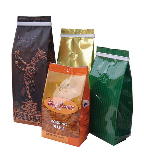 Coffee bag packing